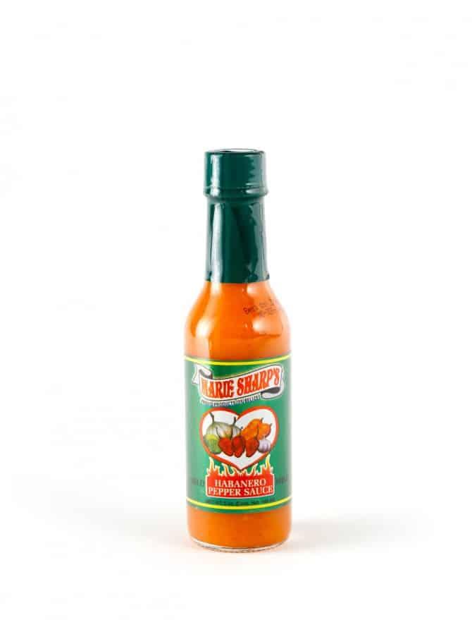 Revue de la sauce mild habanero de Marie Sharp's
