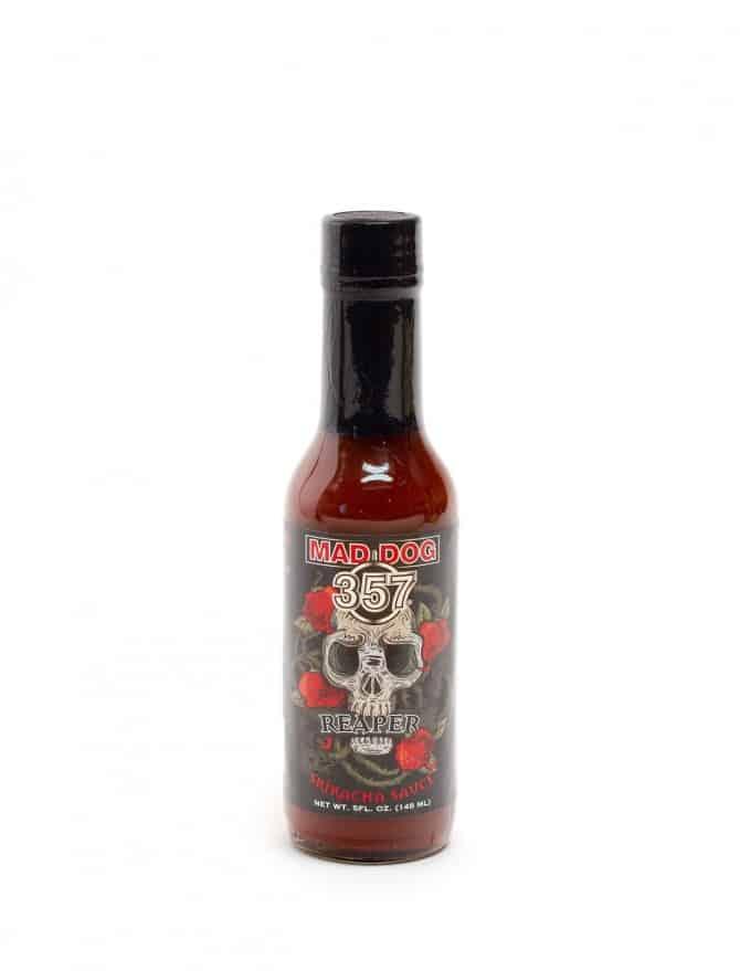 Revue de la sauce Sriracha Reaper de Mad Dog 357