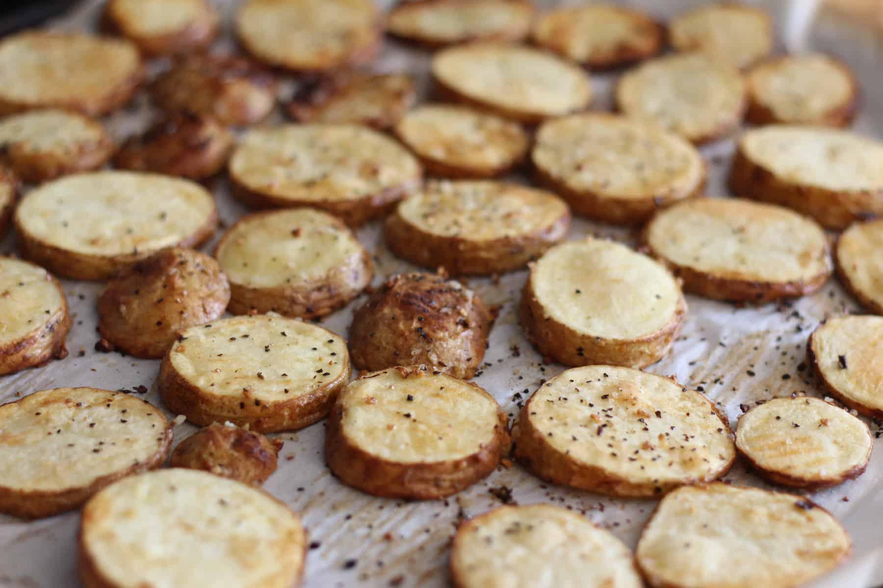 Patates grillées au four façon Montréal