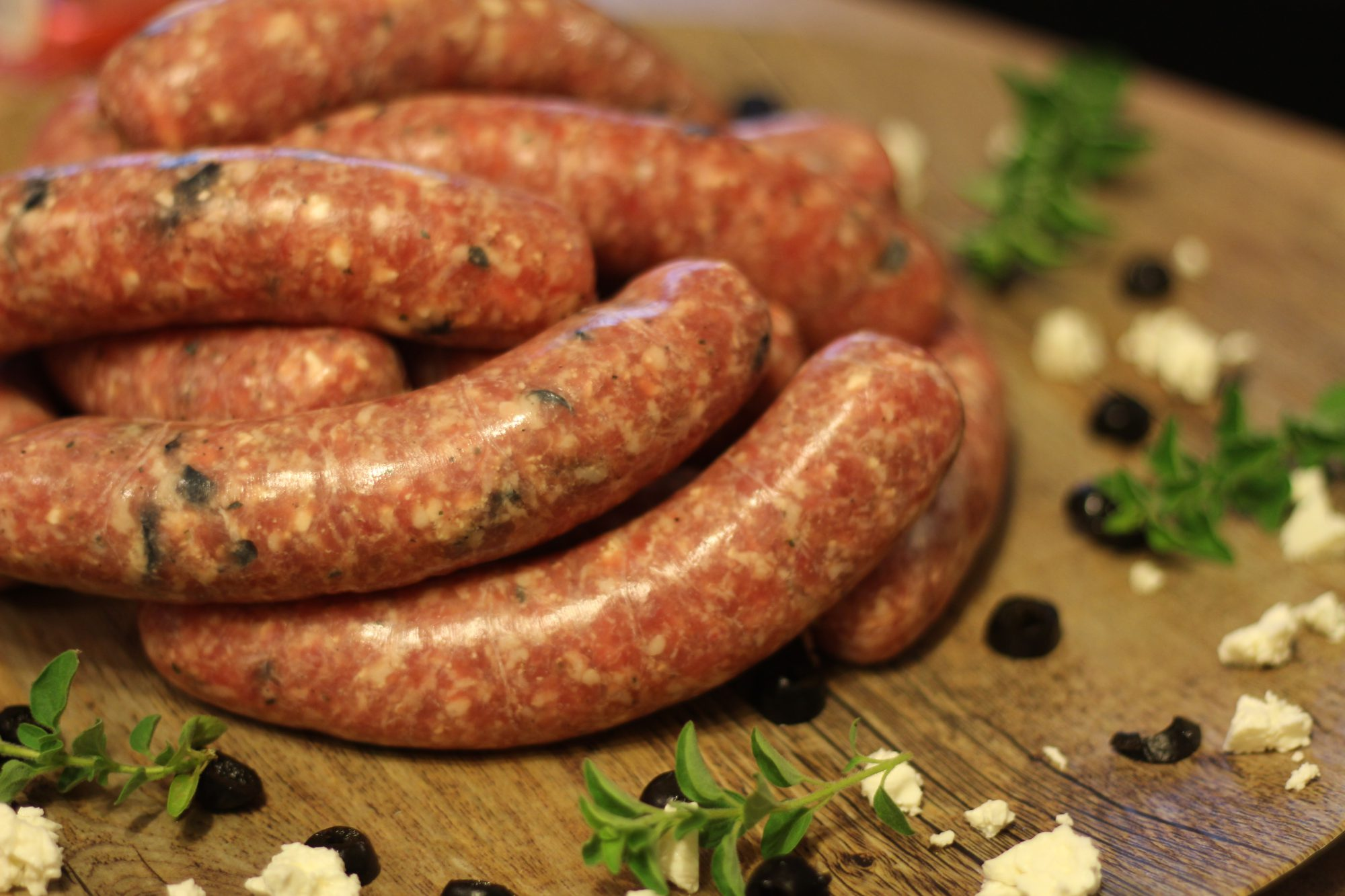 Saucisses grecques